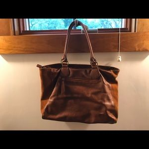 Brand new free people suede and leather bag